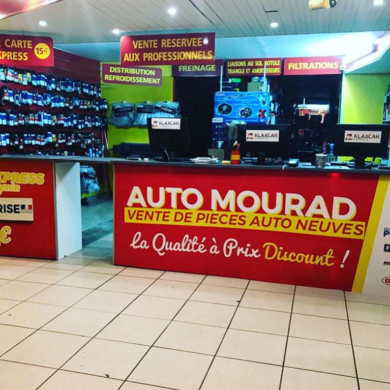 Comptoir d'accueil chez Mourad Auto, spécialiste pièce auto à Creil (60)